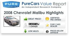 PureCars Sample Report